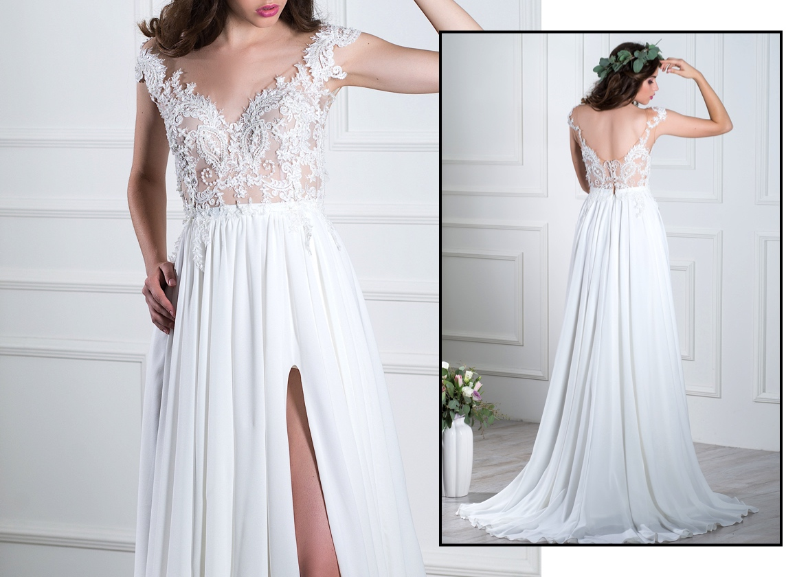 Off-Shoulder Wedding Gowns