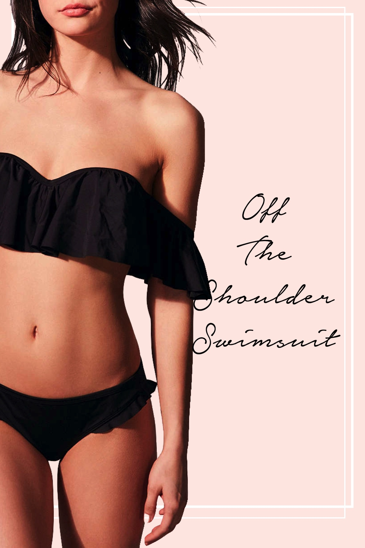 Off-Shoulder Swimsuits
